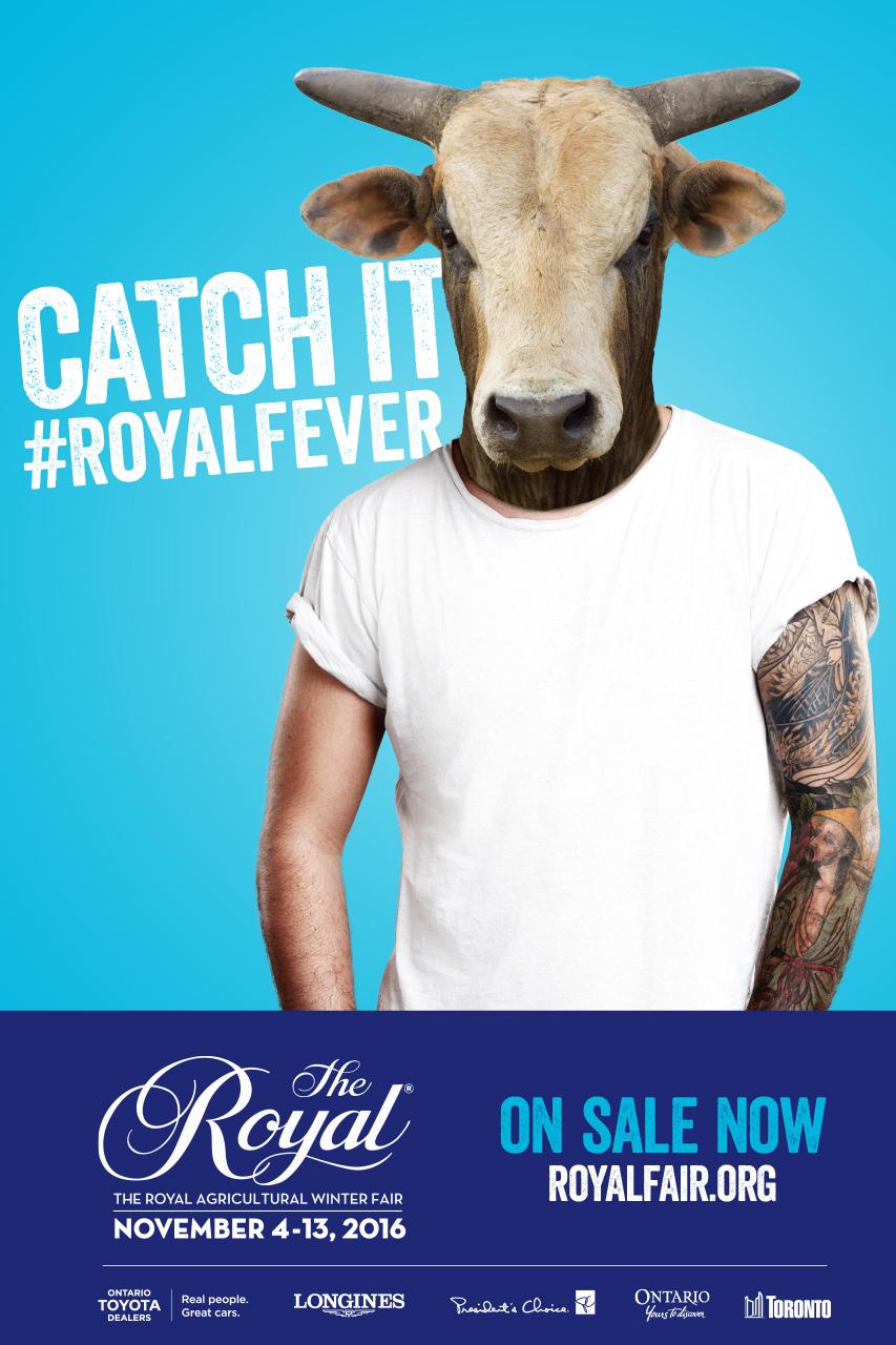 Royal Agricultural Winter Fair 2016 OOH Poster