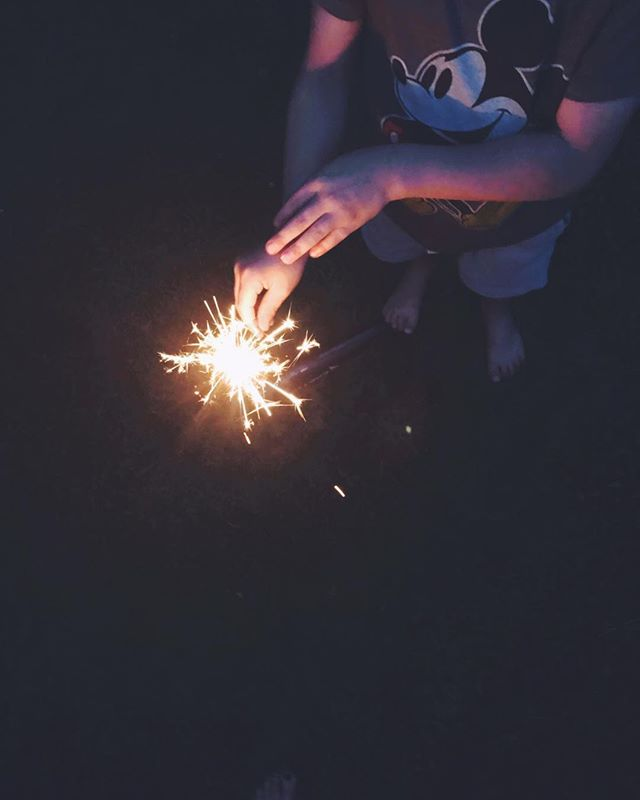 Signs of Summer, Part 1 #sparklers