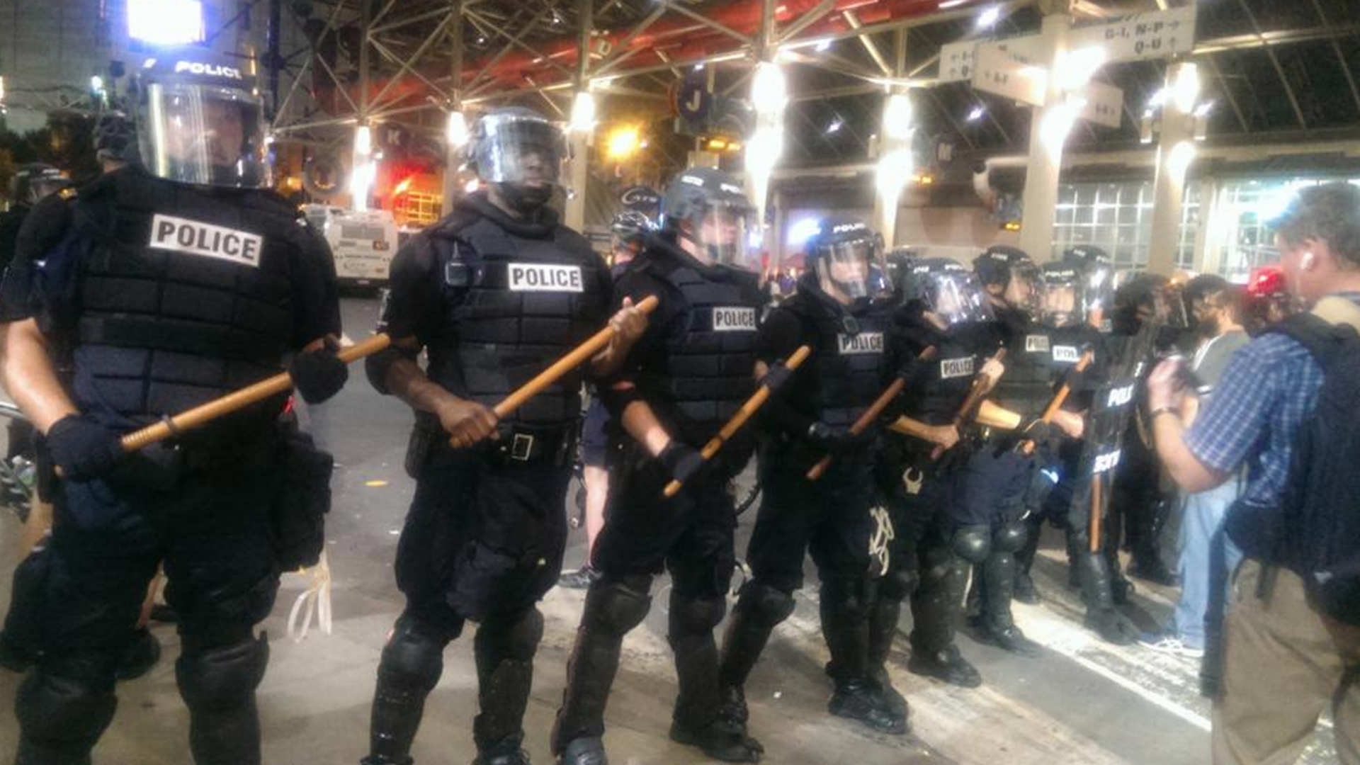 Protests in Charlotte/The Charlotte Observer