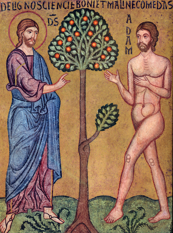 Creation - God Instructs Adam in the Garden, from  Art in the Christian Tradition , a project of the Vanderbilt Divinity Library, Nashville, TN.  http://diglib.library.vanderbilt.edu/act-imagelink.pl?RC=46179  [retrieved March 2, 2017].