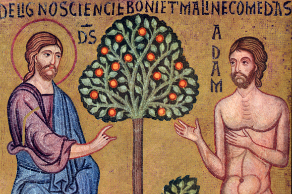 Creation - God Instructs Adam in the Garden, from  Art in the Christian Tradition , a project of the Vanderbilt Divinity Library, Nashville, TN.  http://diglib.library.vanderbilt.edu/act-imagelink.pl?RC=46179  [retrieved March 3, 2017].