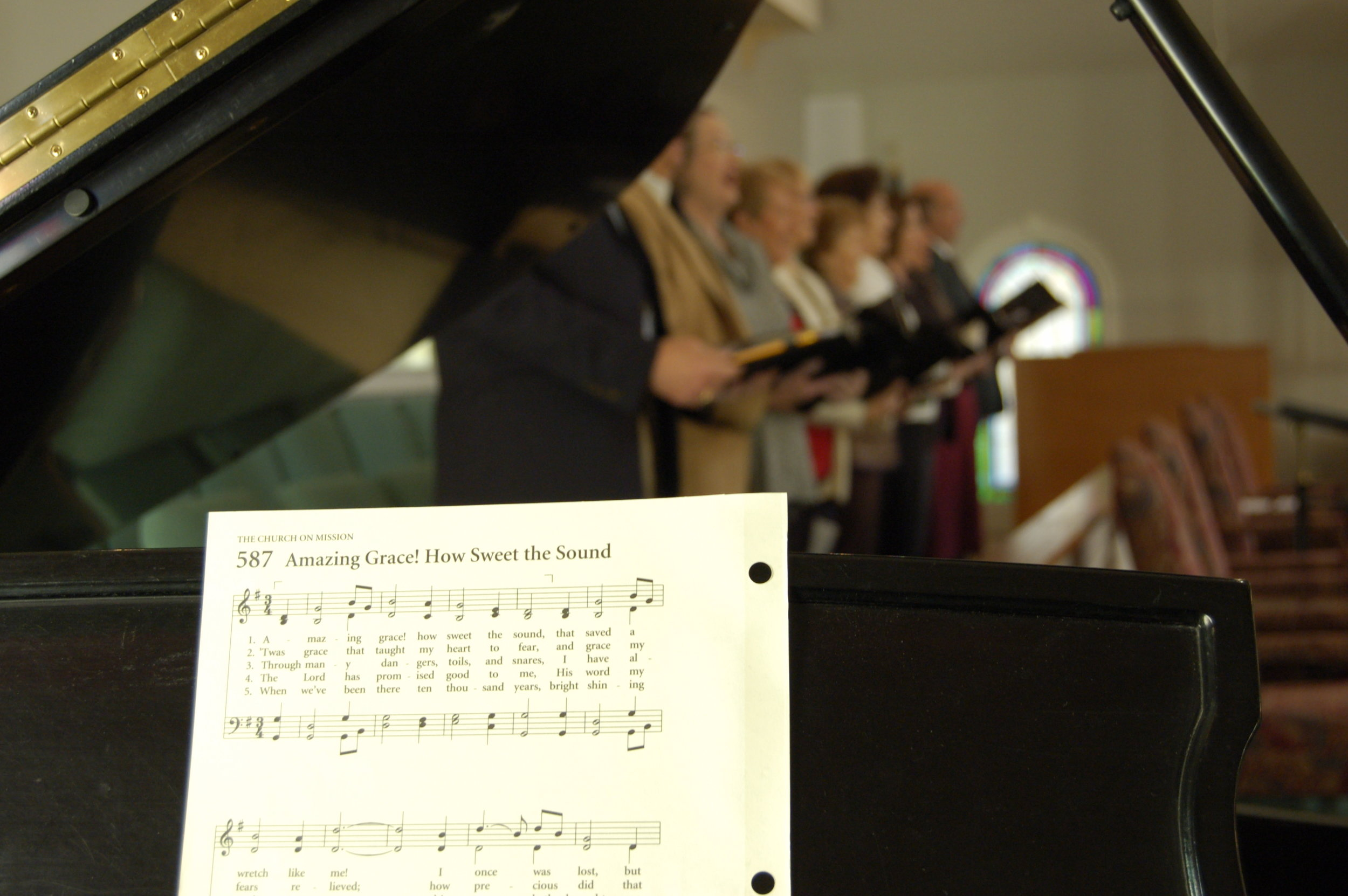 Copy of Traditional Choir.  Timeless Message.