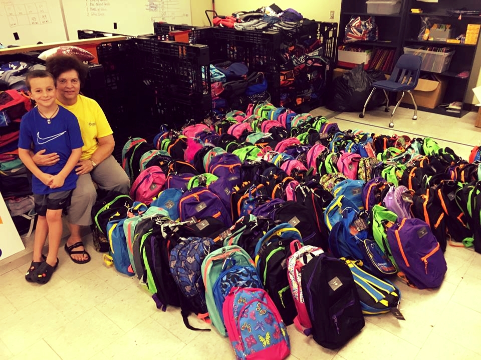 School Supplies Donated to Local Kids in Need