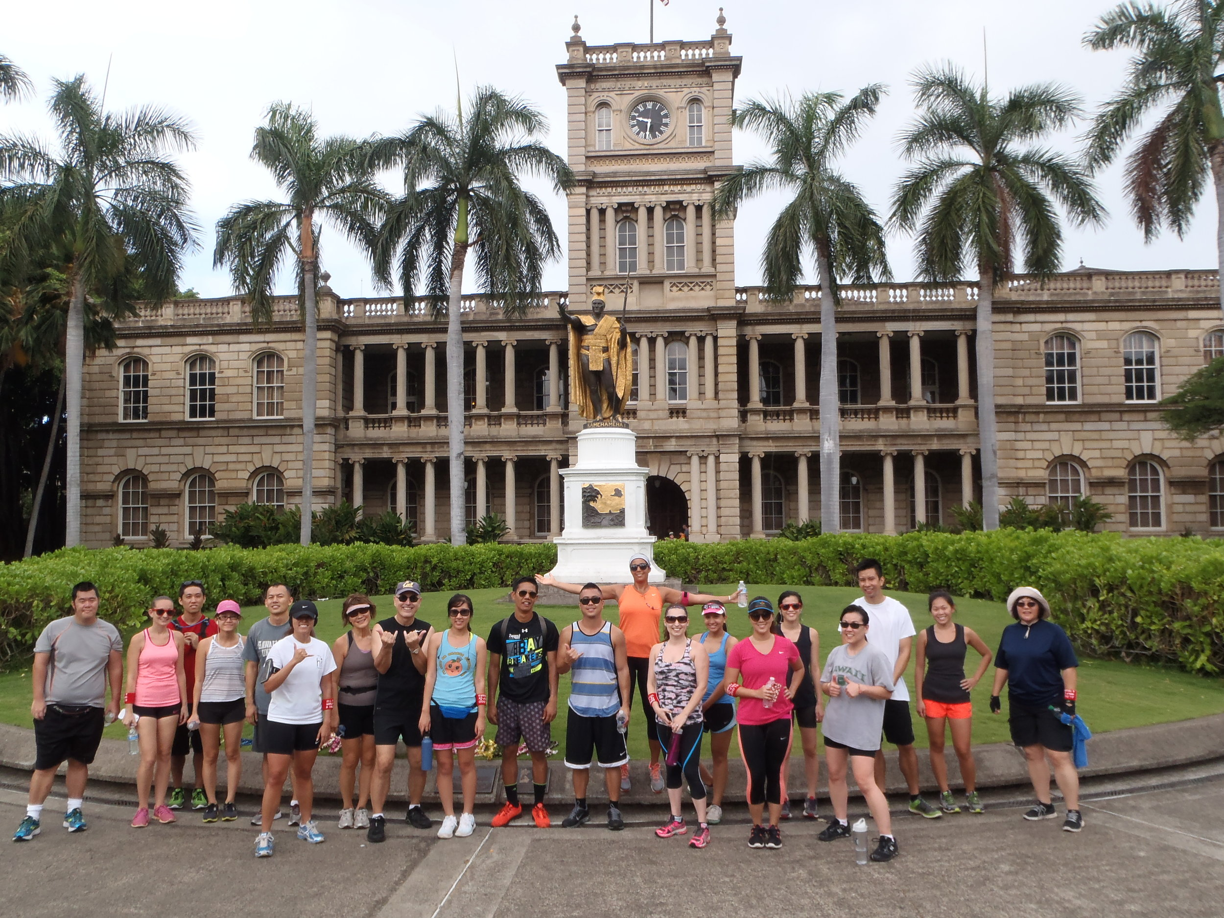 ORGANIZE YOUR NEXT CORPORATE OR SOCIAL GROUP RUNNING TOUR IN HONOLULU