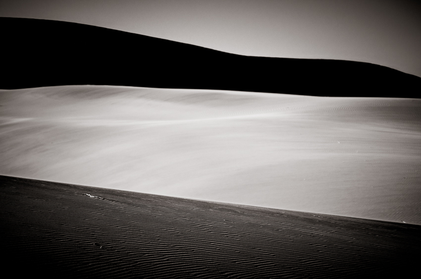 Three of the many dunes you pass on the way out to Dead Vlei.