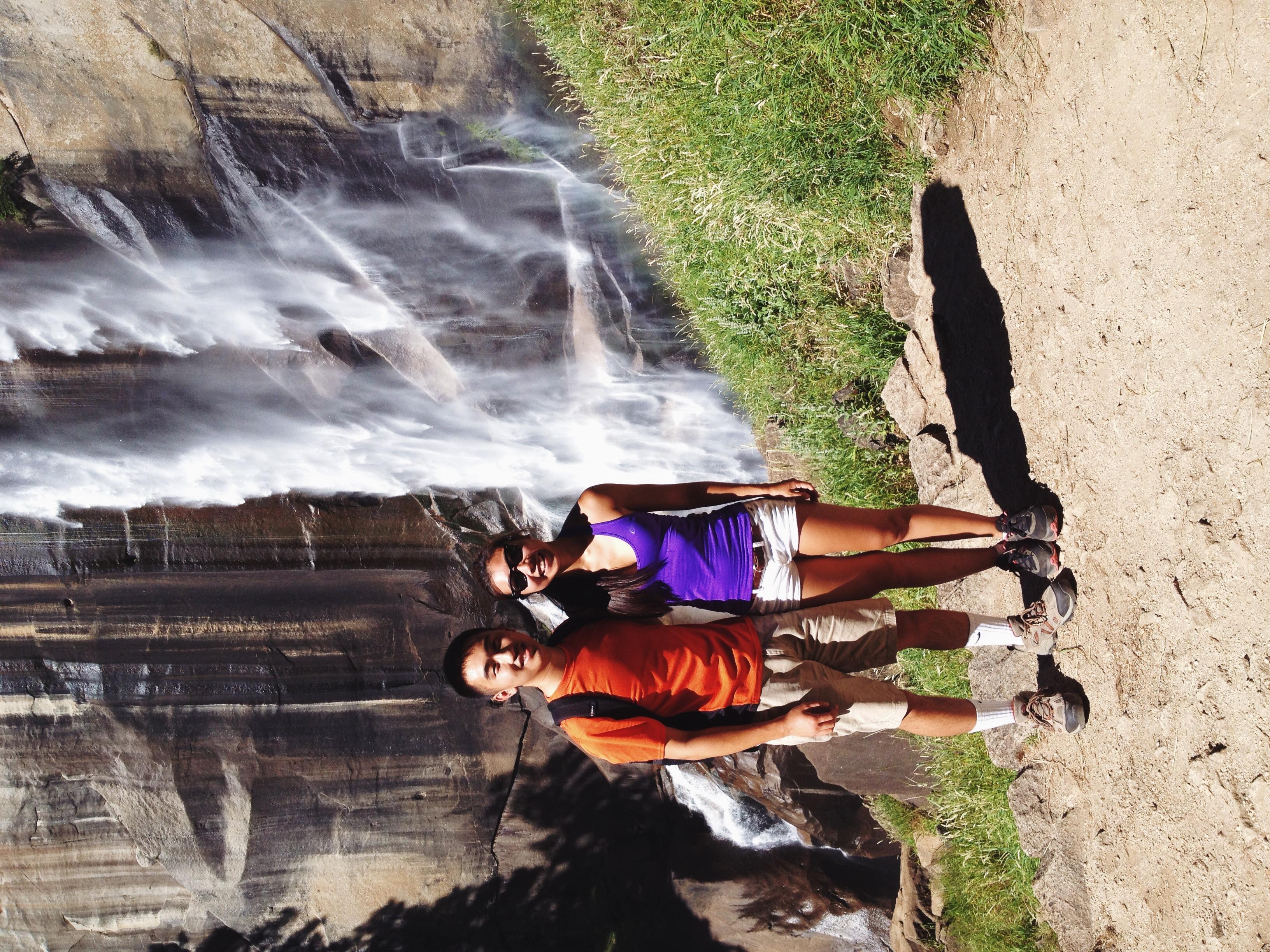 Eric and I at Vernal Falls