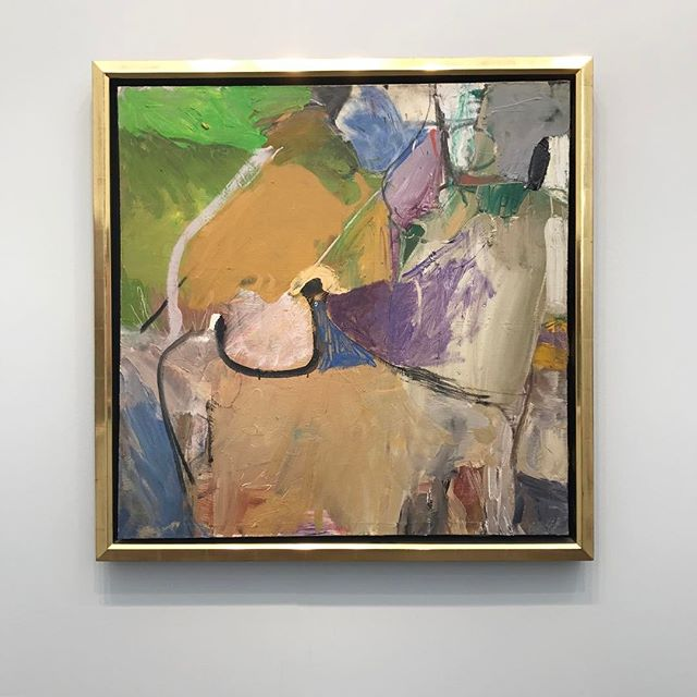 Always love a Diebenkorn, this one especially. Berkeley #41, 1955