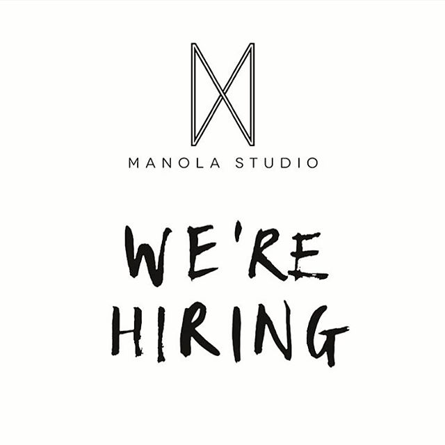 We're currently looking to hire an architectural/interior designer, as well as an intern to join our team! We are a multidisciplinary design studio based in East Hollywood with work ranging from architecture and interior design, to furniture and objects. Link in bio for more info. xx j
