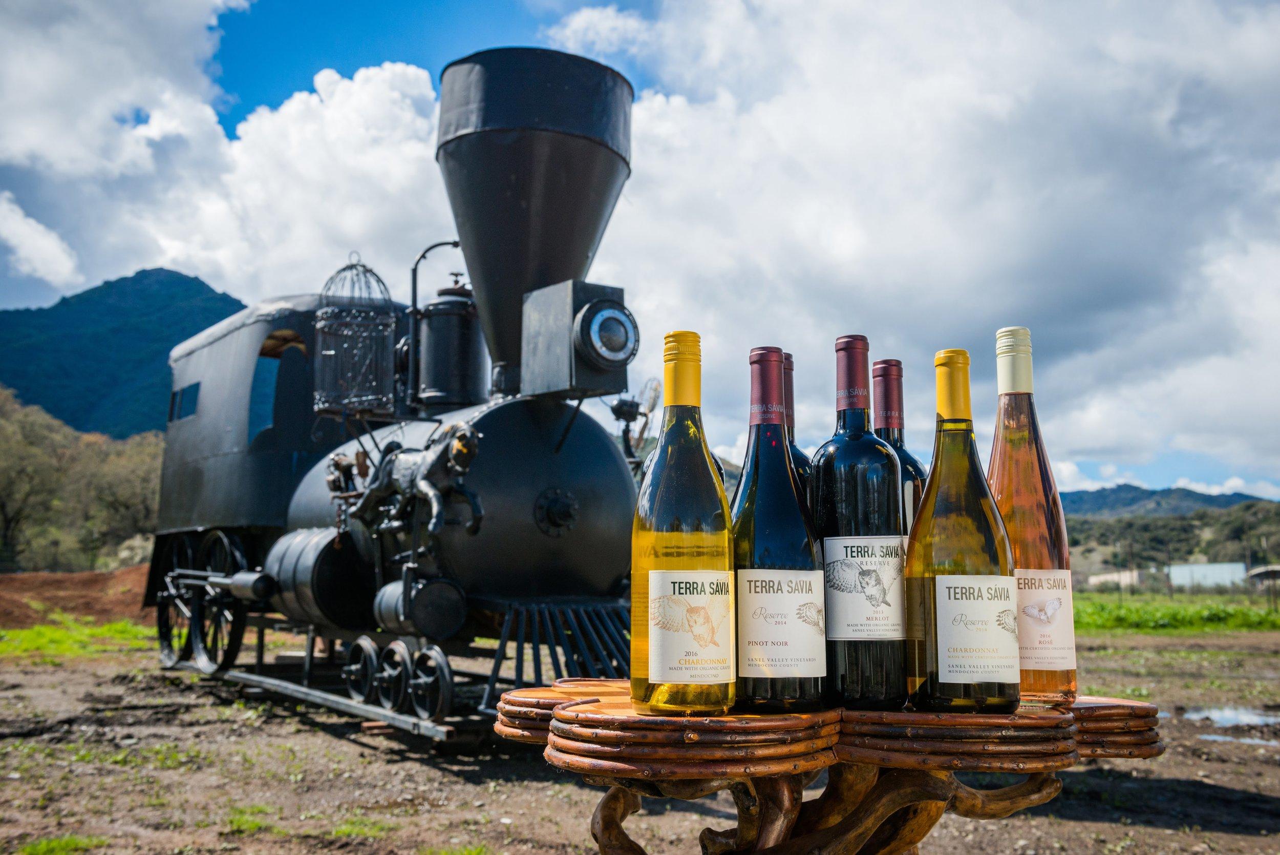 Locomotive Sculpture