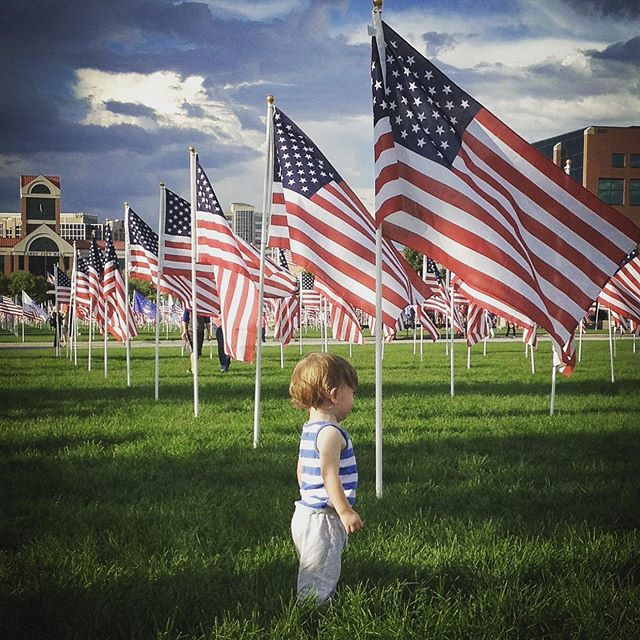 Teach them young to #neverforget #september11 #ourstory #tellthemabouttheheroes