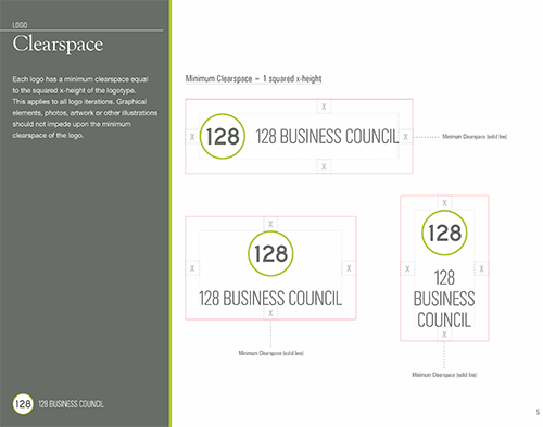 128 Business Council brand style guide