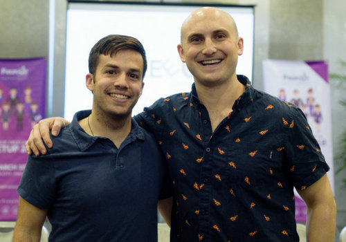 Connor Gillivan and Nathan Hirsch, CMO and CEO of FreeeUp