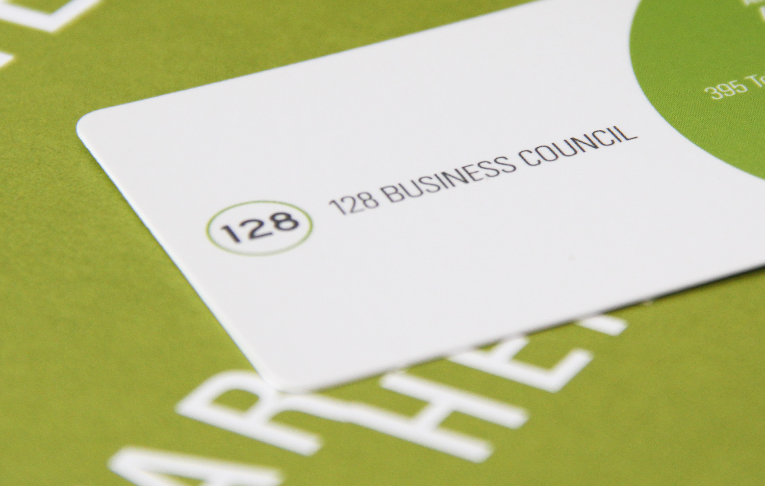 128 Business Council branding
