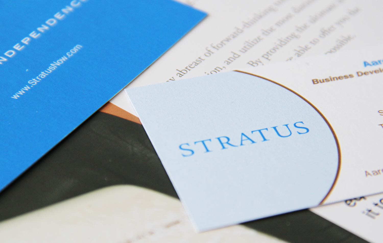 Stratus branding