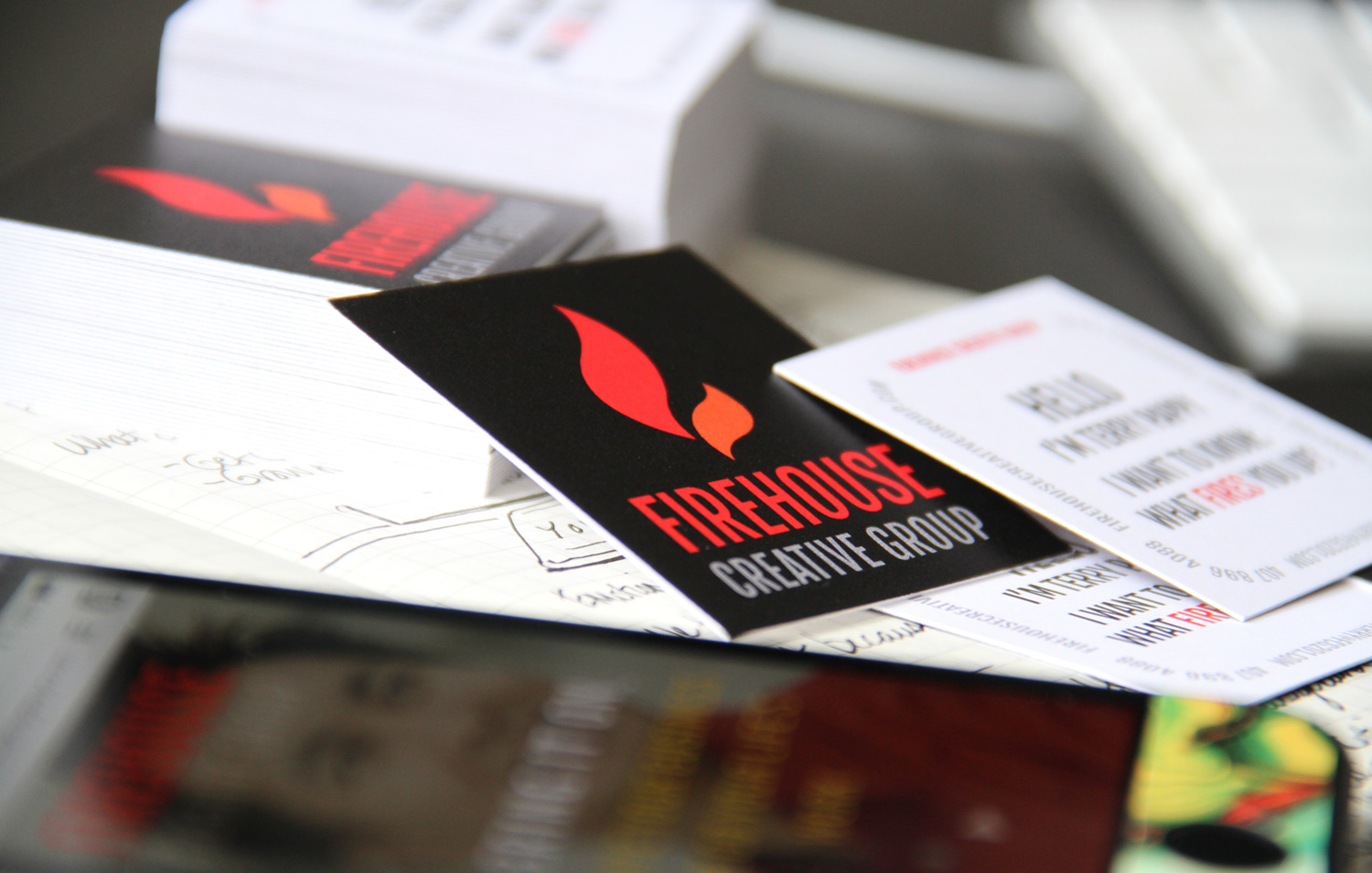 Firehouse Creative Group branding