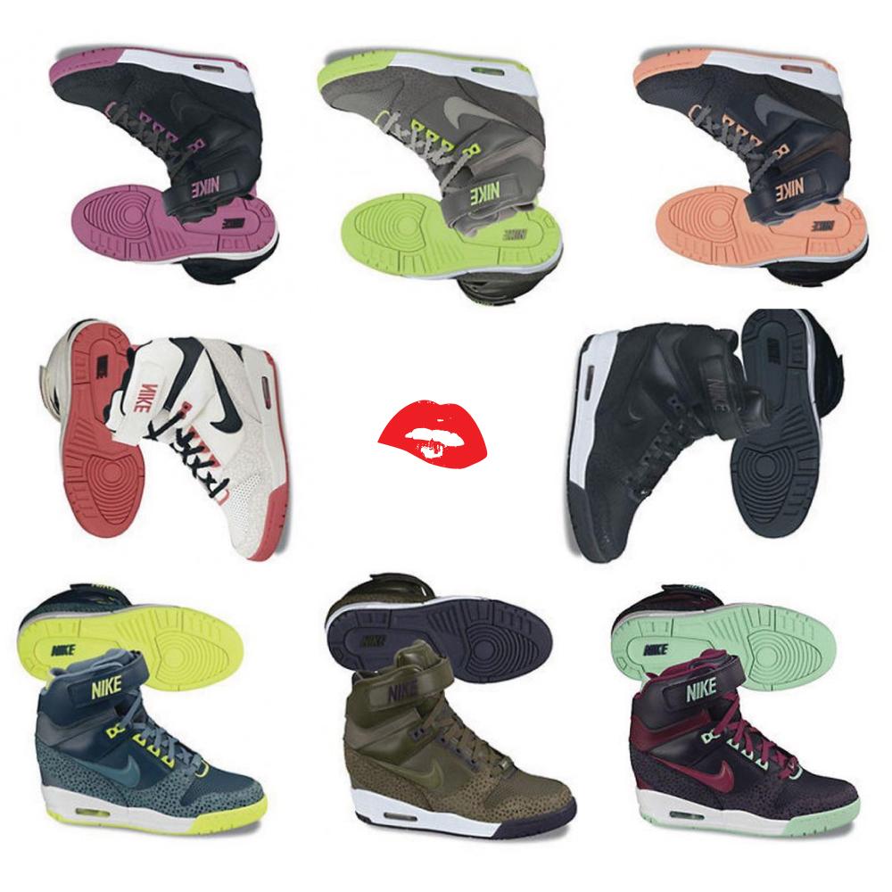 Manual Cíclope Fundador  Air Revolution Sky Hi - New Wedges By Nike — ShoeQUEENDOM