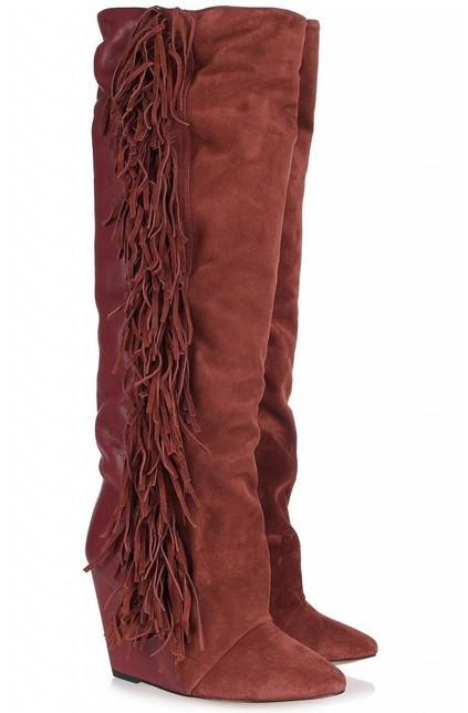 Isabel Marant Fringe High Boots.jpg