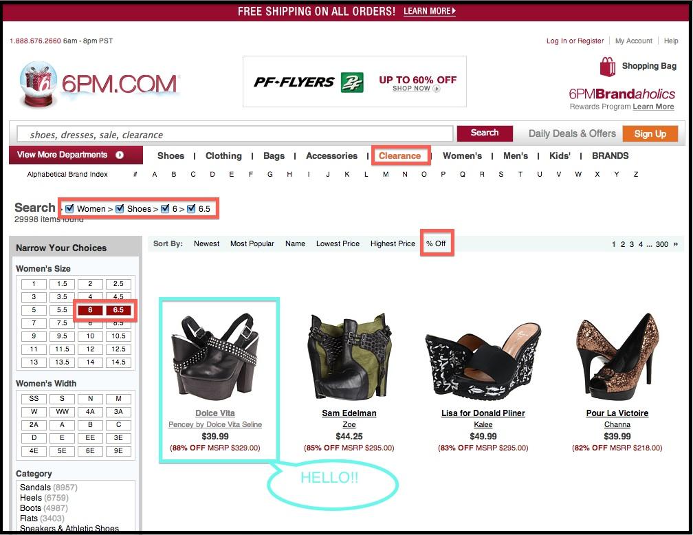 6PM Discount Shoe Shopping.jpg