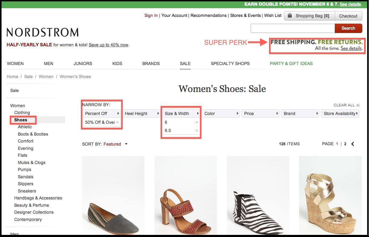 Nordstrom Discount Shoe Shopping.jpg