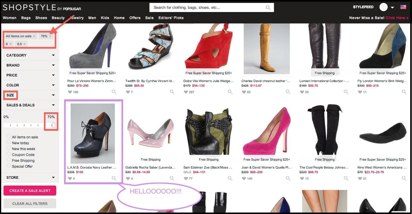 ShopStyle Discount Shoe Shopping.jpg