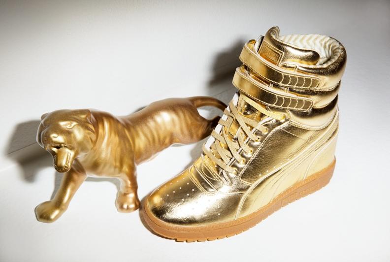 all gold pumas - WinWin Atlantic