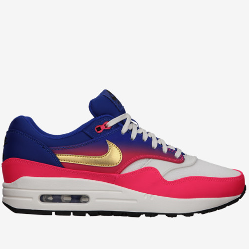 A sunset on your feet. What an awesome color combo, plus Air Max 1's are SO comfy and good looking on women :)