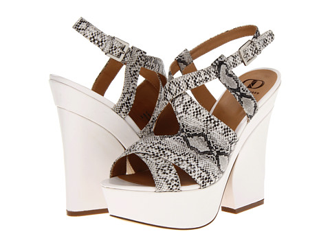 75% OFF - $32.25    Sexy heels for daytime, especially with the unique heel, makes like a wedge but still gives you the sexy curve!