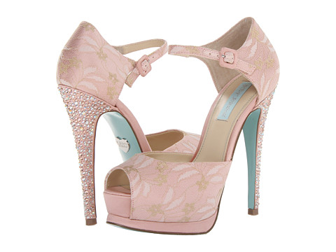 70% OFF - $44.70!!!    High arch, soft pink, ankle strap for support. Great heel!