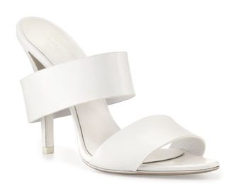 """For the simple bride.   Secure √ ::  Material √ ::  4.25"""" instep"""