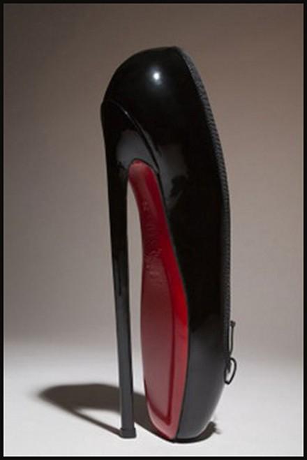 "Louboutin's version of the 19th Century ""Fetish"" Ballerina Boot"