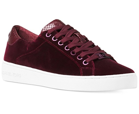 """Michael Kors """"Irving"""" - $125  Just your regular sneakers with a white sole. Can never go wrong. This sneaker is just simple and festive."""