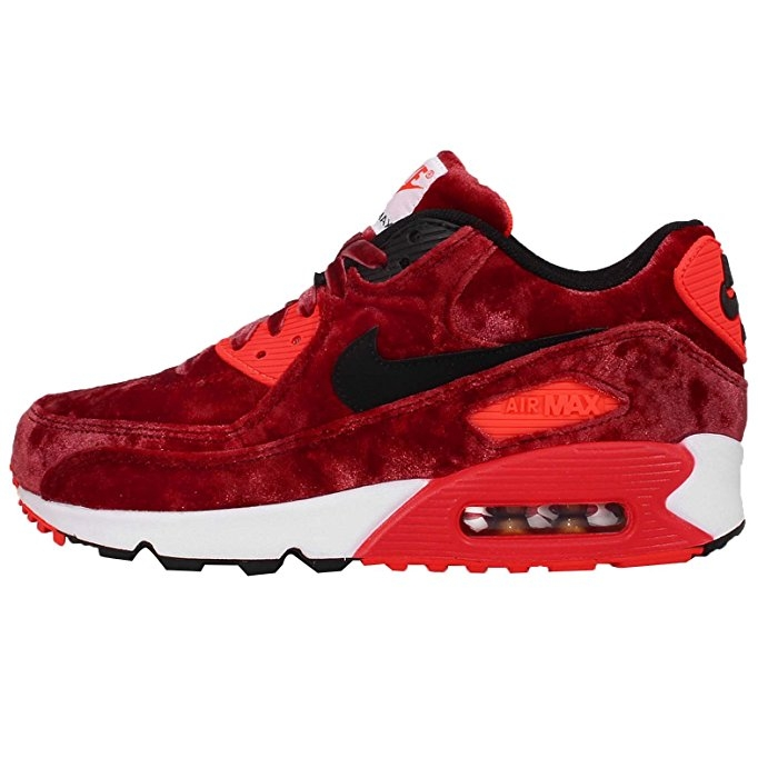 "Nike Air Max 90 ""Anniversary Velvet"" - $272  I mean.... HELLOOOO!!! Wow. These are SICK. Love the colors, love the sporty feel, and hey a good way to match with Santa haha."