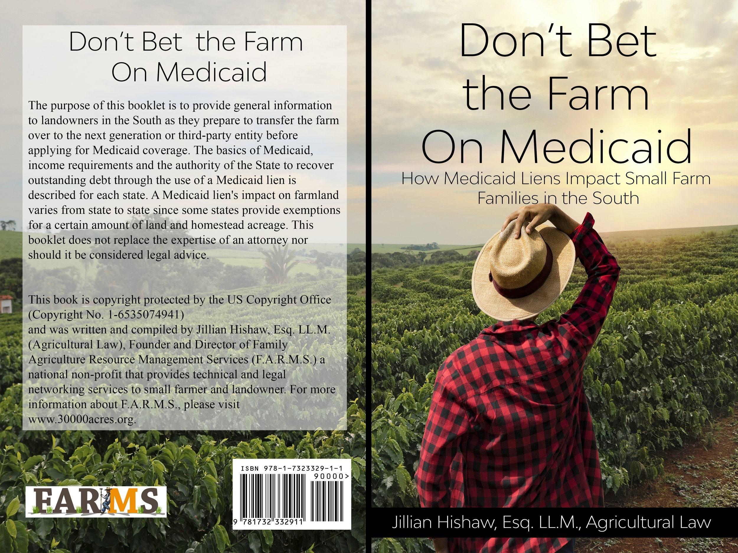 Our New Booklet on Medicaid Liens are available click on photo to purchase!!
