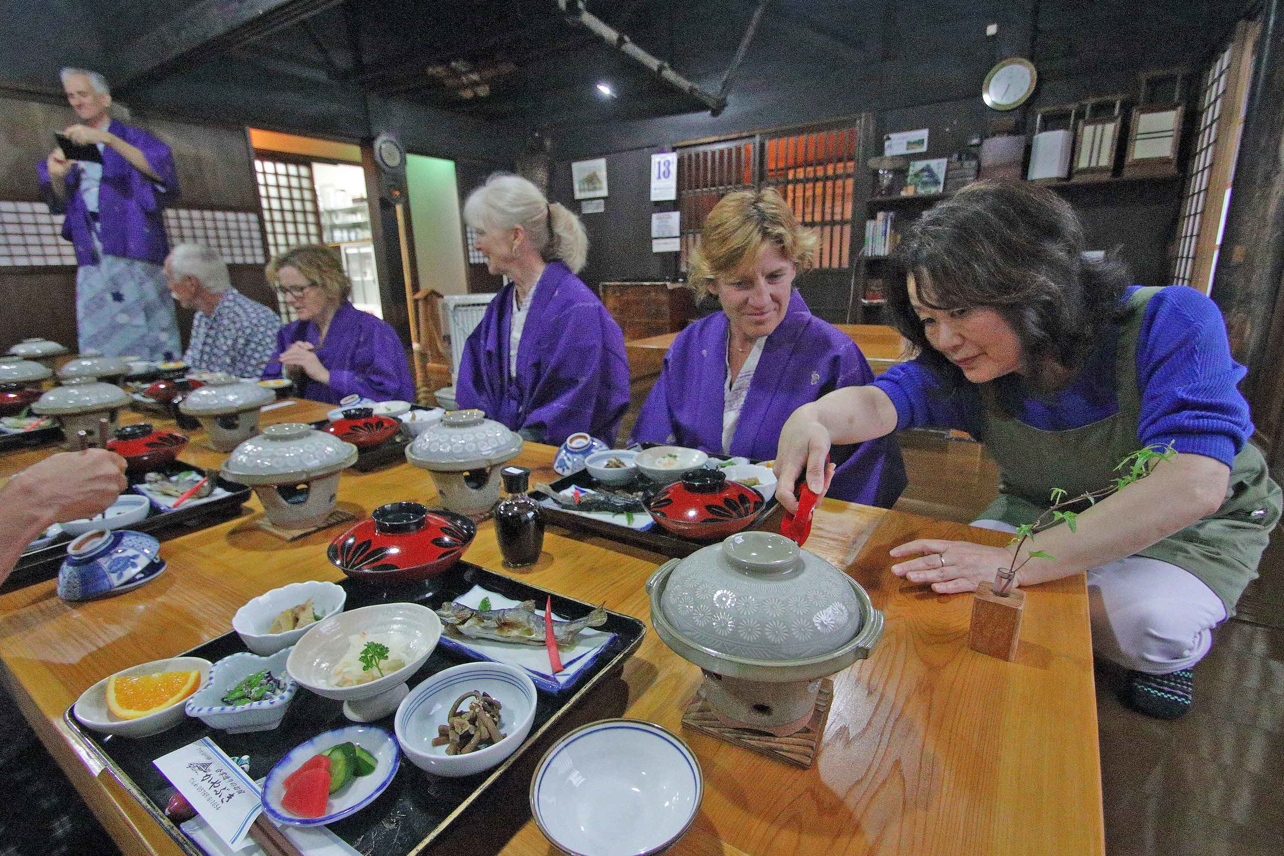 Experience Traditional Japanese Meals