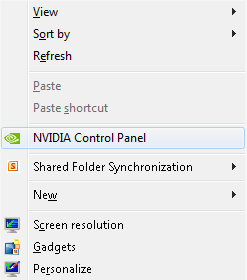 On nVidia Machines