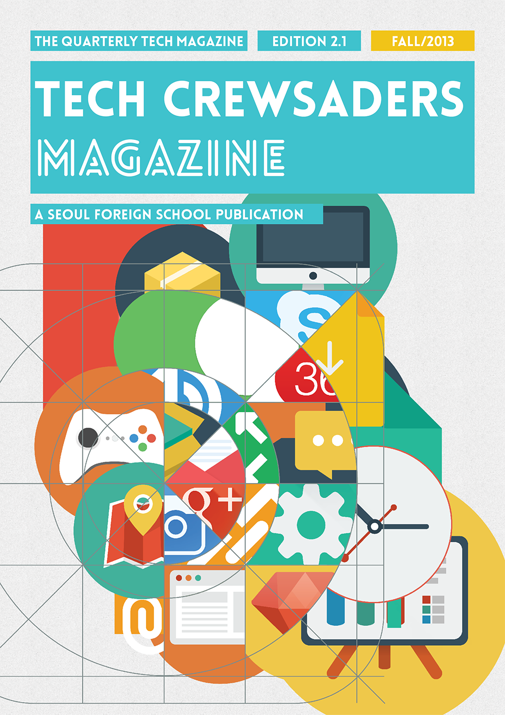 Tech Crewsader Magazine Q1 2013 Fall Issue Cover