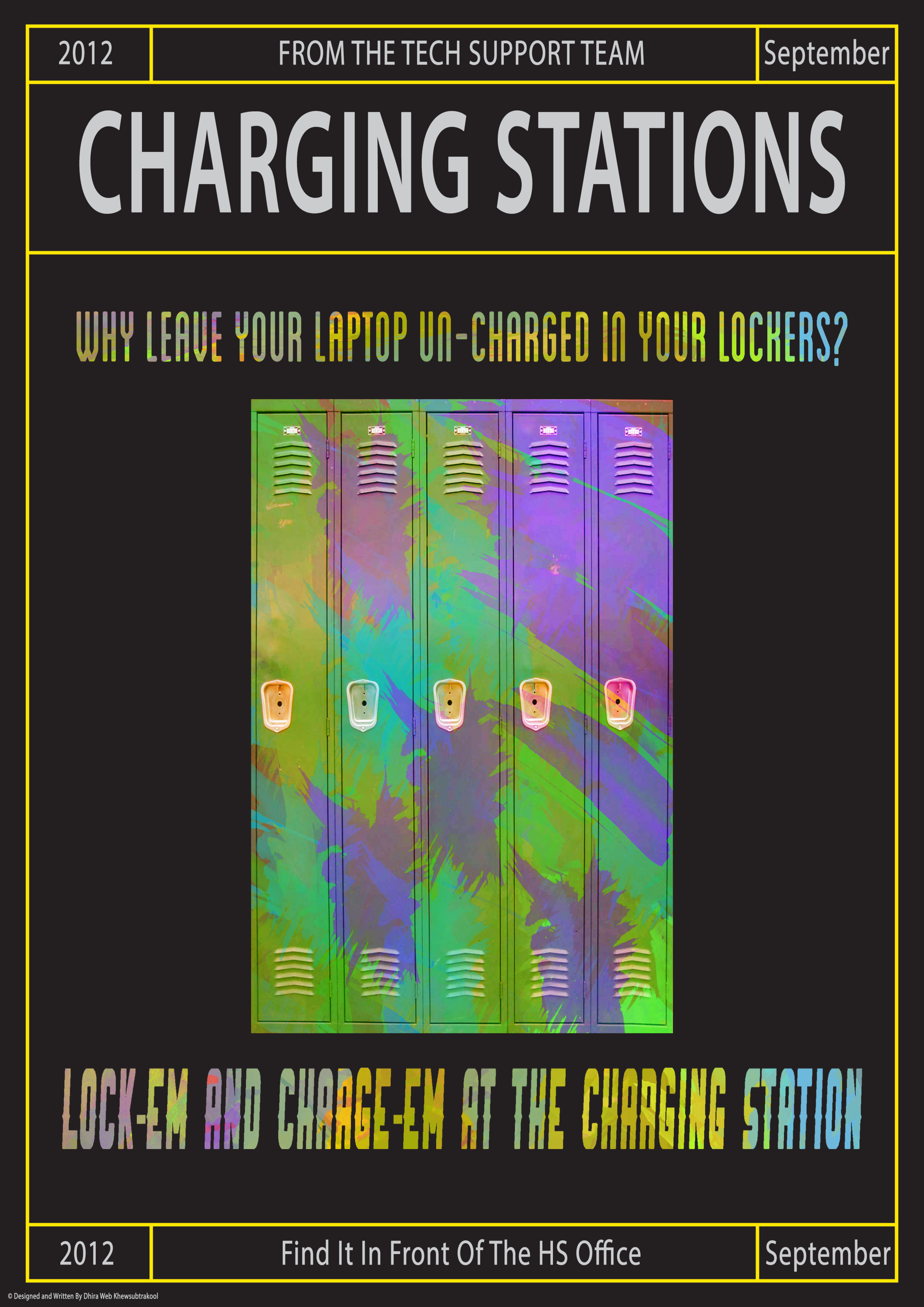Charging Stations promotional posters