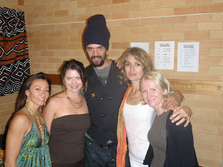 Michael Franti concert, Byron Bay Australia