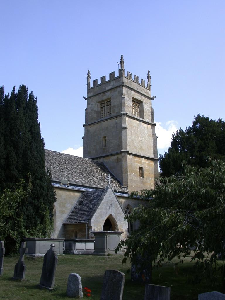 St Faiths Church Overbury