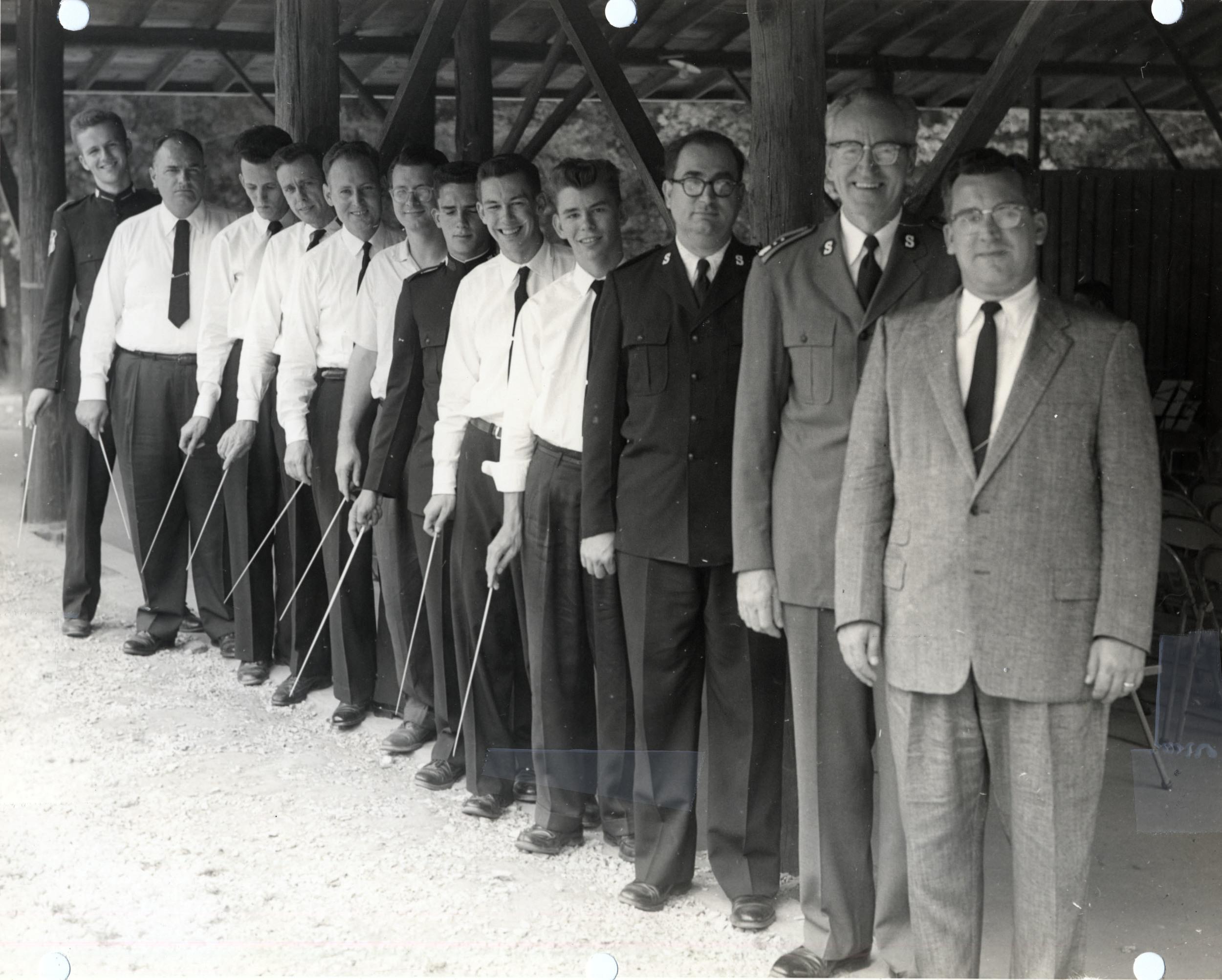 TMI Band Conductors, c. 1960