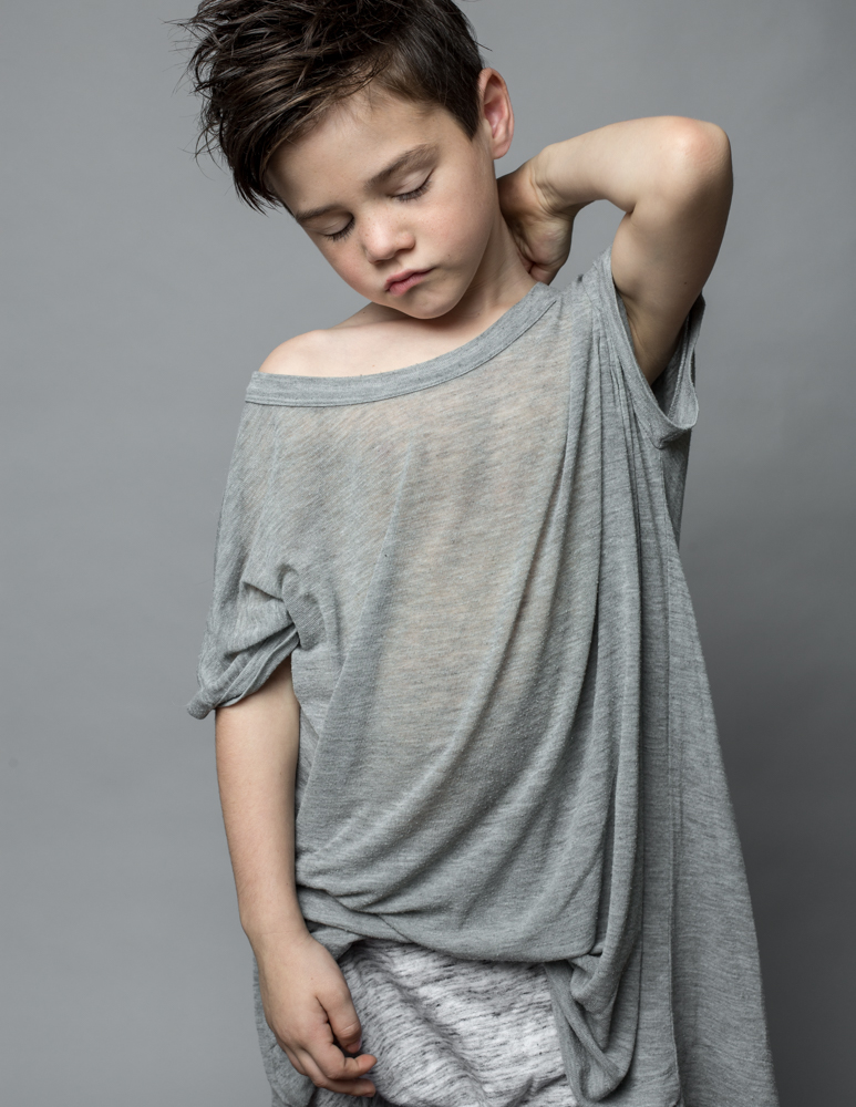 gray matter | kids fashion shoot by the skulls
