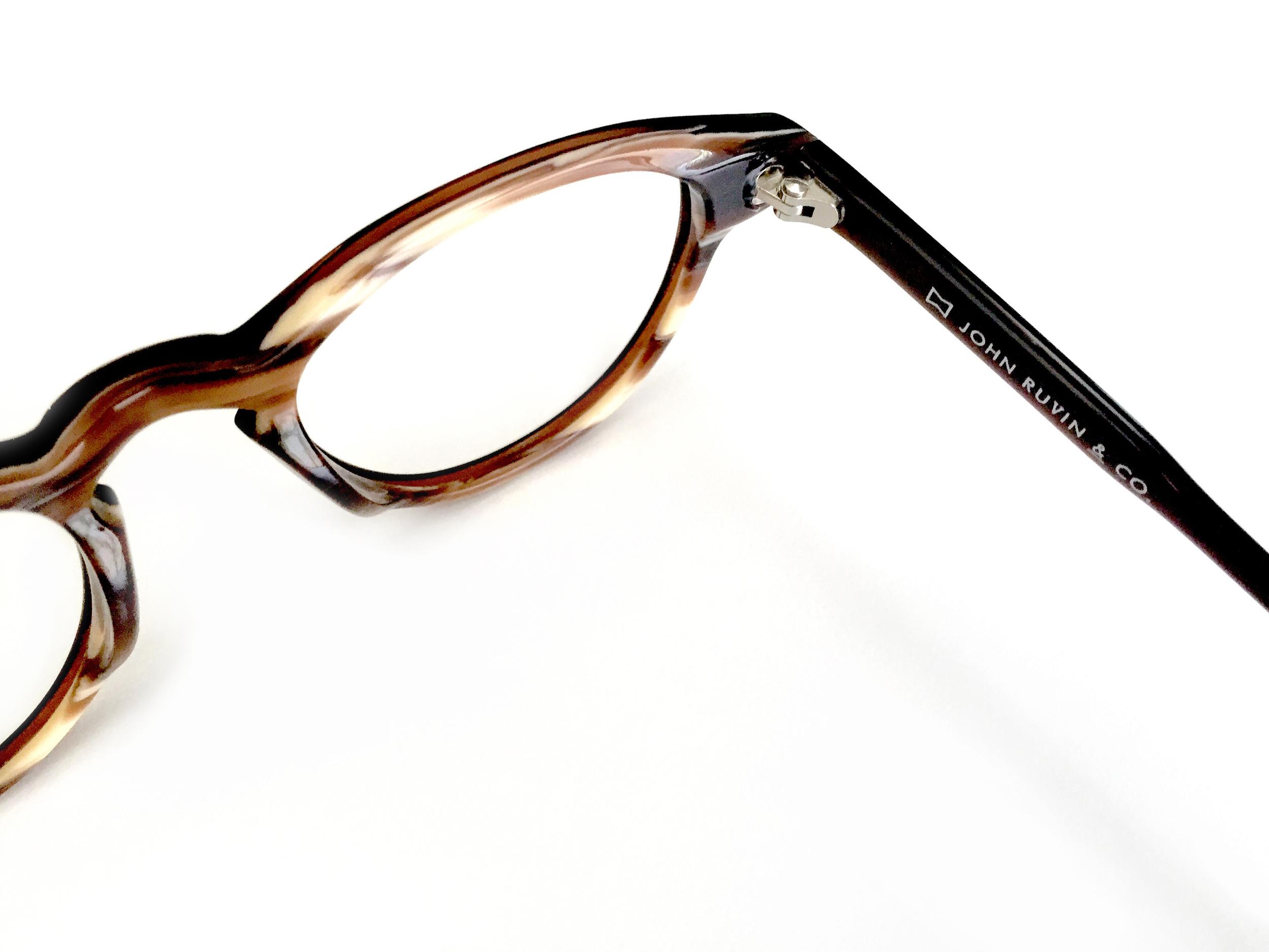 Detail of glasses