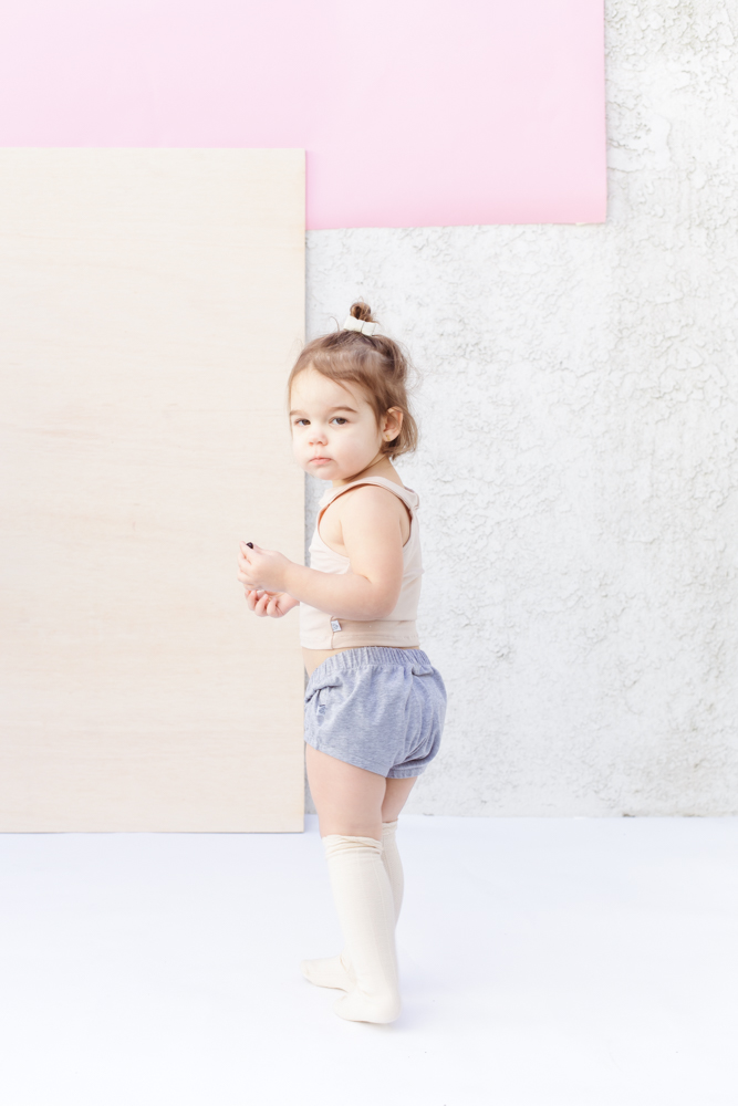 Kids crop top with bloomers outfit - The Skulls - theskulls.co