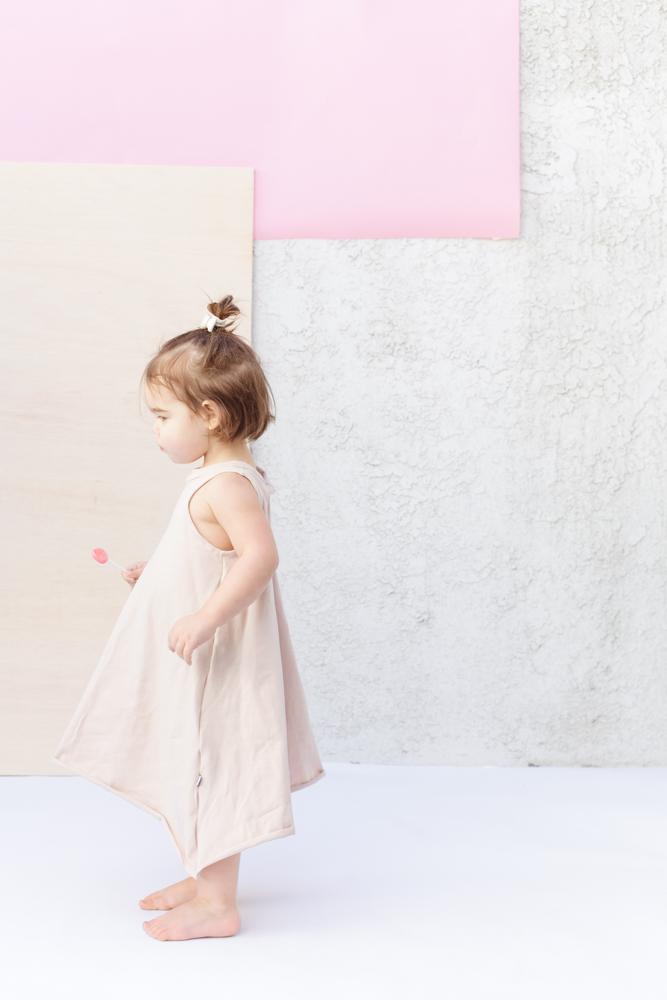 Kids swing dress - Littles Collection SS17 - theskulls.co