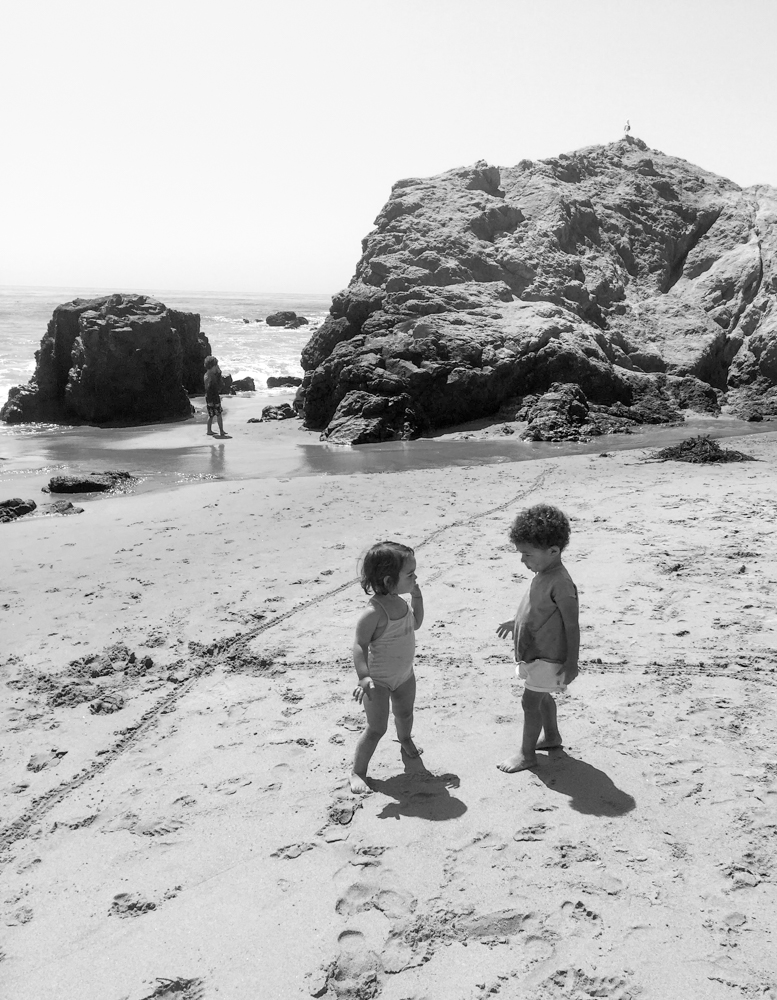 Littles Collection and The Skulls at Leo Carrillo beach