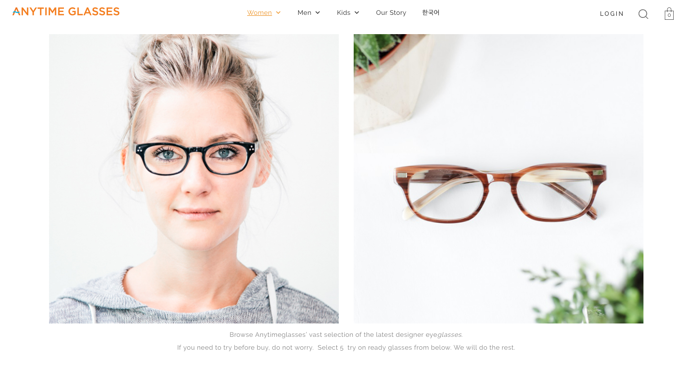 Blonde woman eyewear headshot and glasses by Ryan Pavlovich
