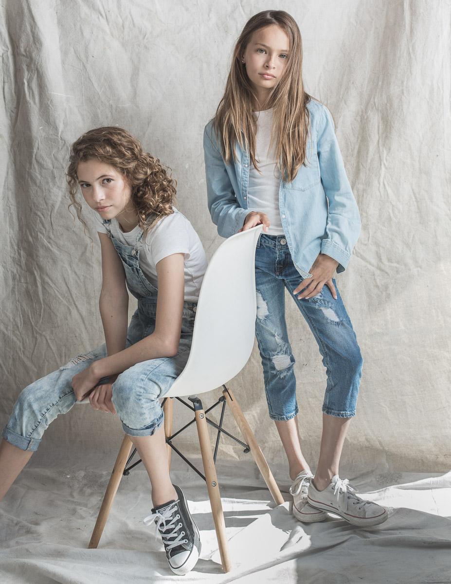 LA models Prince Sisters by Ryan Pavlovich Photography