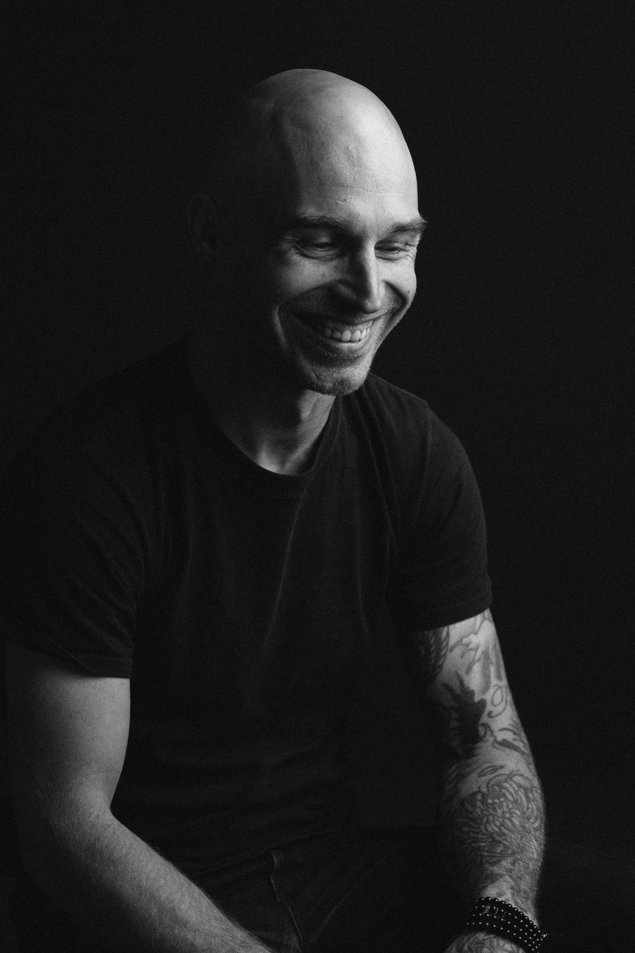 Studio portrait of Brandon Satterlee - Ryan Pavlovich Photography