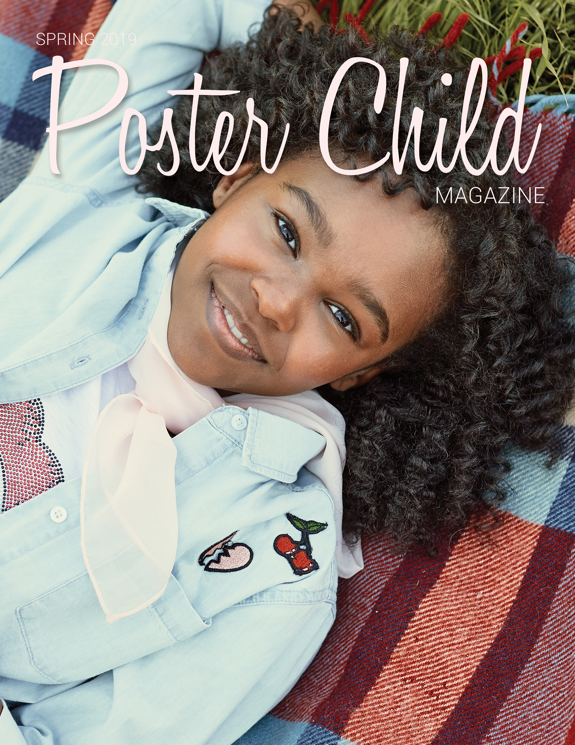Posterchild magazine cover of actress Lidya Jewett photographed by Ryan Pavlovich
