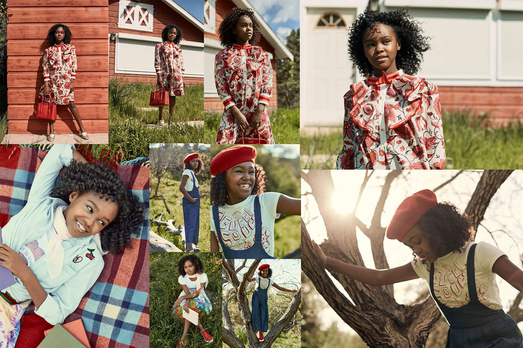 mood board from Lidya Jewett editorial for posterchild magazine